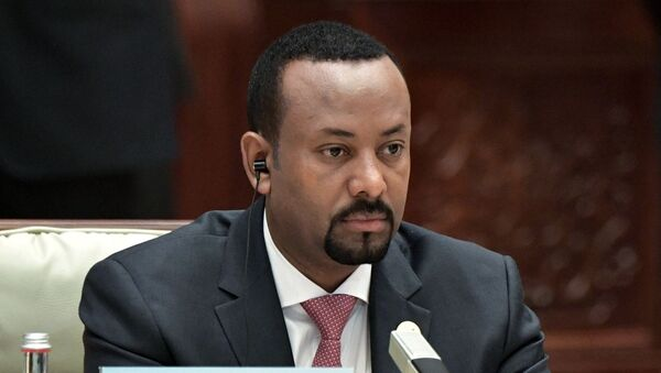 Premyer-ministr Efiopii Abiy Axmed Ali - Sputnik Oʻzbekiston
