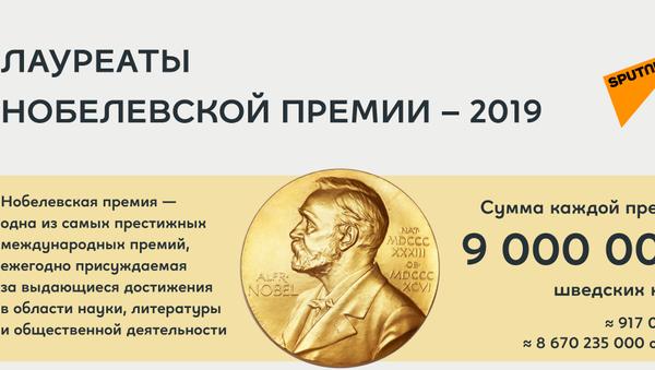 Нобелевские лауреаты 2019 - Sputnik Узбекистан