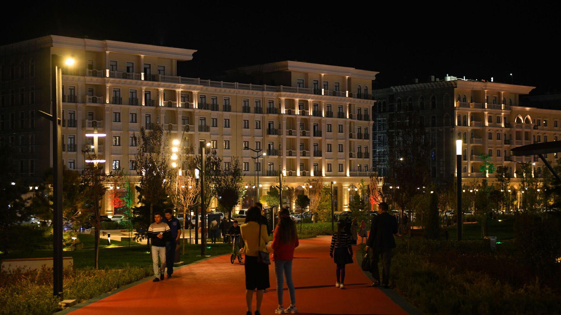 Дома, выполненные в классическо-европейском стиле в Ташкент-Сити - Sputnik Ўзбекистон, 1920, 14.10.2021