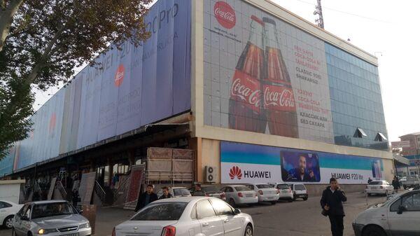 Izobrajeniye Coca-Cola na odnom iz torgovыx tsentrov v Tashkente - Sputnik Oʻzbekiston