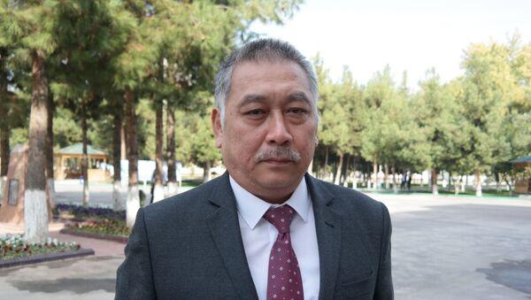 Начальник отдела БПИ Мирабадского района Ташкента Игорь Ли - Sputnik Узбекистан
