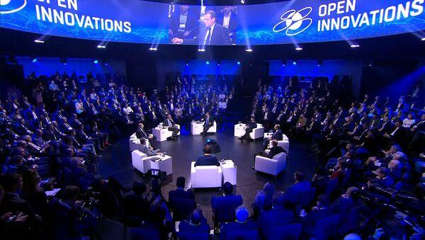 Цифровая экономика и искусственный интеллект. О чем говорили на форуме Открытые инновации –  2019 - Sputnik Узбекистан