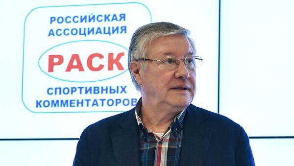 Rossiyskiy sportivnыy kommentator Gennadiy Orlov - Sputnik Oʻzbekiston