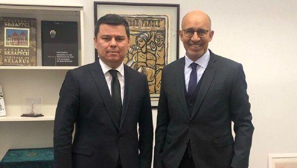 Шерзод Асадов провел совещание с представителем ОБСЕ - Sputnik Узбекистан