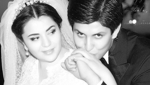 Otabek Umarov s suprugoy Shaxnozoy Mirziyoyevoy - Sputnik Oʻzbekiston