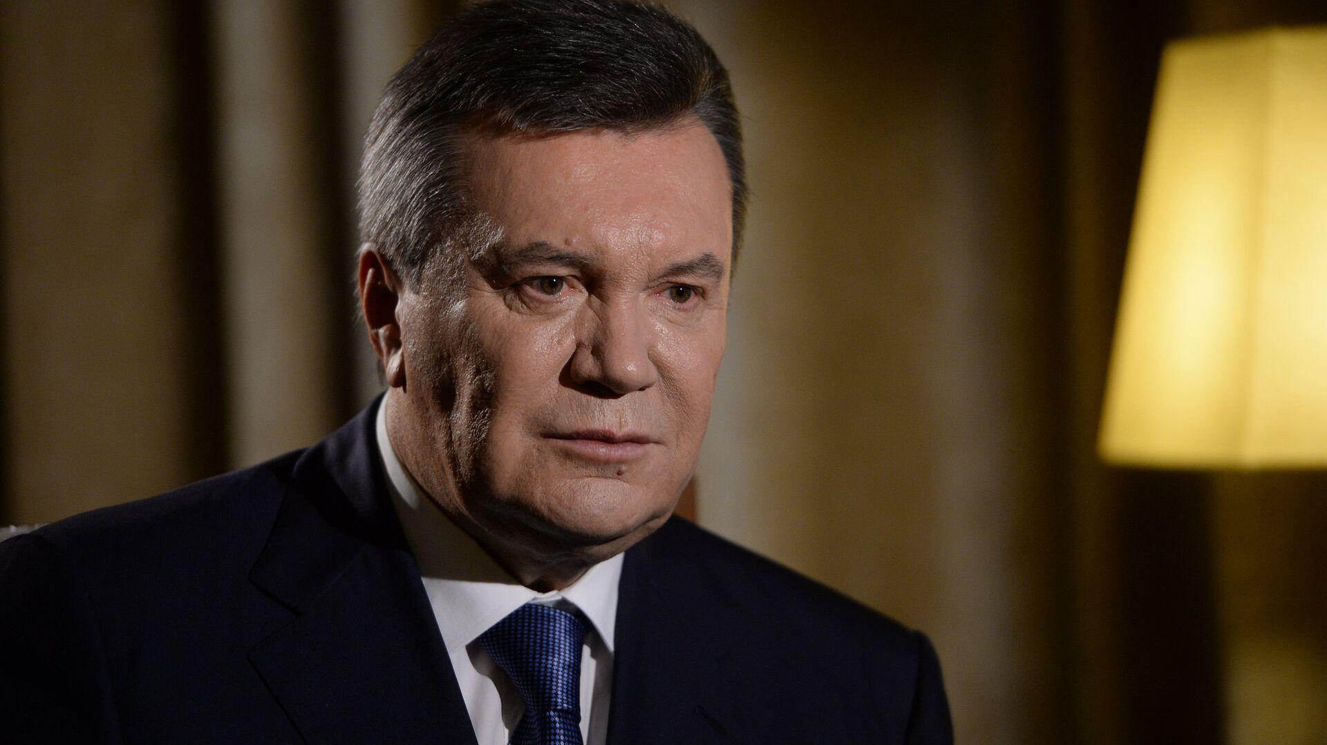 Бывший президент Украины Виктор Янукович  - Sputnik Ўзбекистон, 1920, 17.08.2021