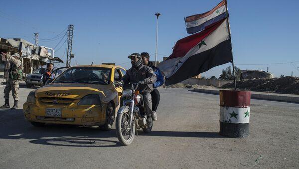 Деревни на северо-востоке Сирии, освобожденые от боевиков ИГ - Sputnik Узбекистан