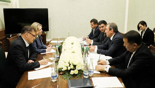 Заседание РФ и Узбекистан - Sputnik Узбекистан