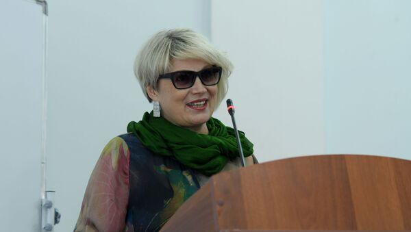Руководитель образовательных проектов Международного форума Инновации в образовании — траектория международного сотрудничества Елена Кобелева - Sputnik Узбекистан