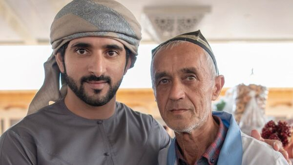 Принц Дубая ал-Мактум - Sputnik Узбекистан