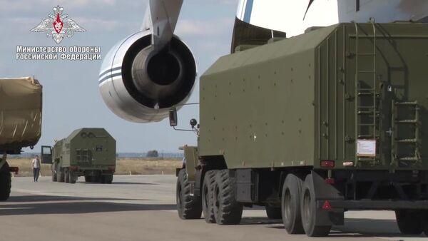 Доставка компонентов ЗРС С-400 в Турцию - Sputnik Ўзбекистон