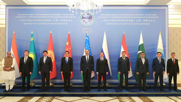 Заседание Совета глав правительств государств - членов ШОС в Ташкенте - Sputnik Ўзбекистон