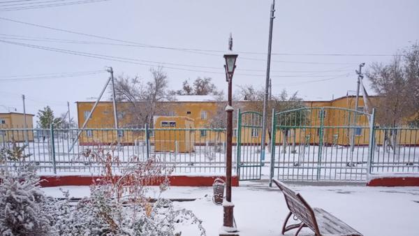 Pervыy sneg v Karakalpakstane - Sputnik Oʻzbekiston