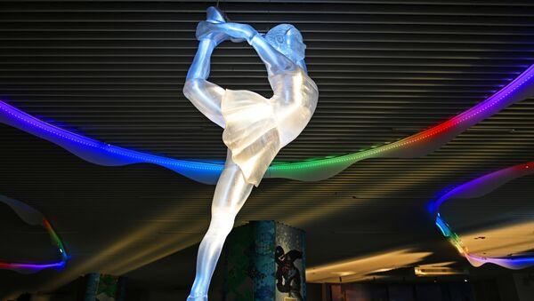 Выставка Парк ледяных скульптур в Сочи - Sputnik Ўзбекистон