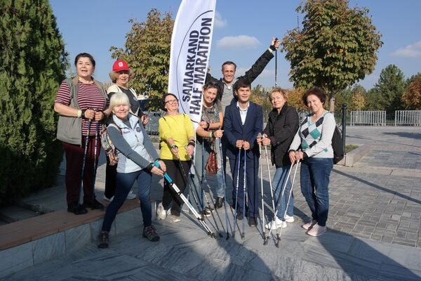 Самаркандский полумарафон-2019 - Sputnik Узбекистан