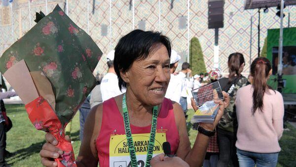 Людмила Музафарова, первая в истории марафонская бегунья Узбекистана - Sputnik Ўзбекистон