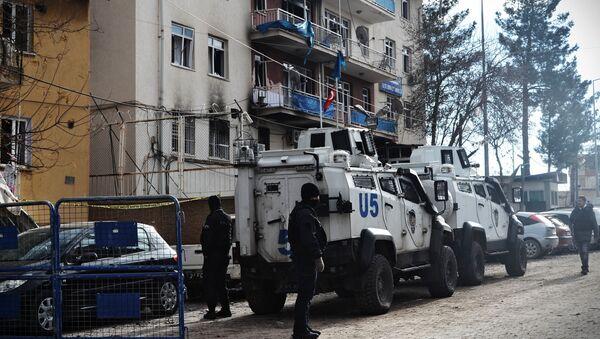 Полиция Турции - Sputnik Узбекистан