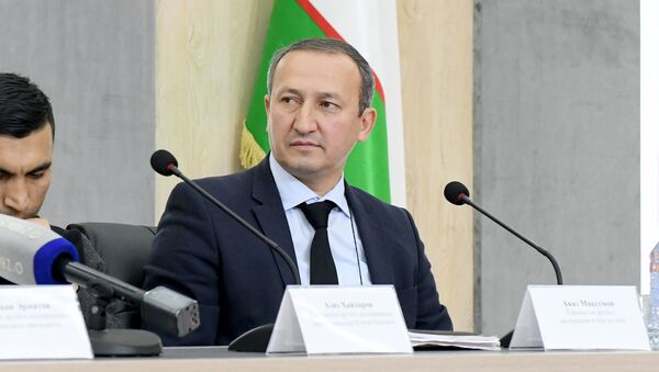 Пресс-секретарь Ассоциации футбола Узбекистана (АФУ) Аваз Максумов - Sputnik Ўзбекистон