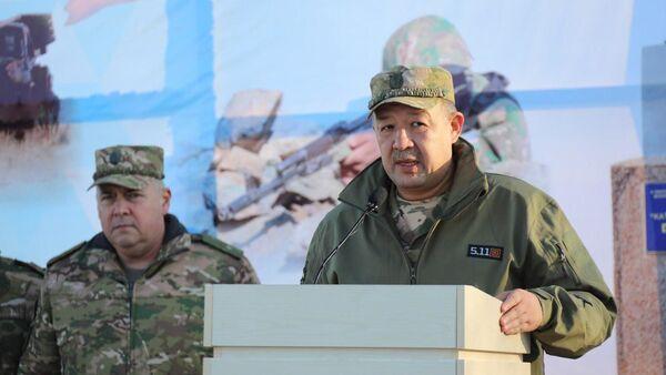 Ministr oboronы general-mayor Baxodir Kurbanov - Sputnik Oʻzbekiston