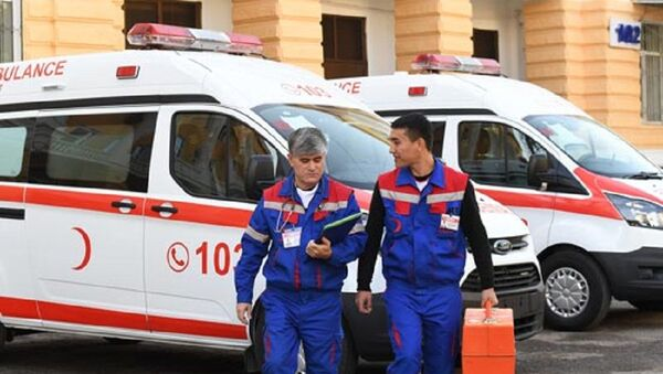 Avtomobil skoroy pomoщi - Sputnik Oʻzbekiston