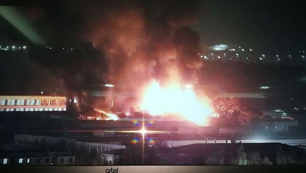 В Сергелийском районе произошел крупный пожар - Sputnik Ўзбекистон