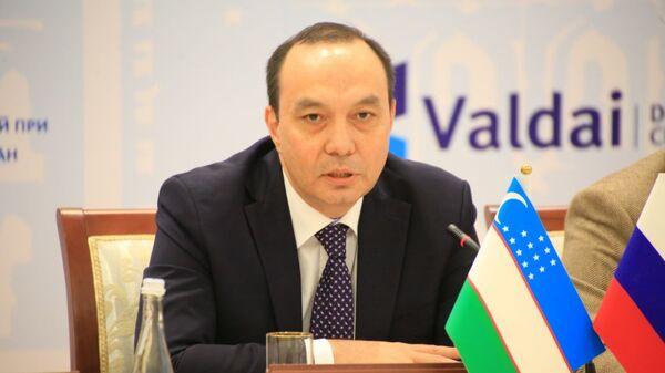 Директор Института стратегических и межрегиональных исследований (ИСМИ) при Президенте Узбекистана Элдор Арипов - Sputnik Узбекистан