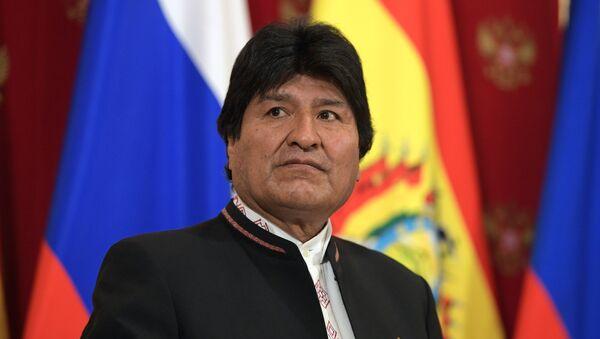 Президент Боливии Эво Моралес - Sputnik Ўзбекистон
