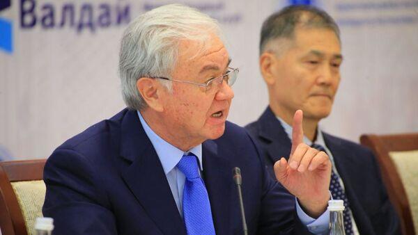 Eks-gensek SHOS Rashid Alimov na X Aziatskoy konferentsii Valdayskogo kluba v Samarkande - Sputnik Oʻzbekiston