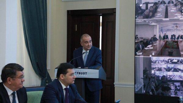 Заседание ЦИК по декабрьским выборам в РУ - Sputnik Узбекистан