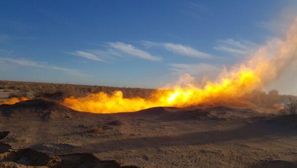 Месторождение газа - Sputnik Узбекистан