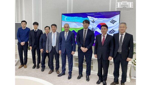 V stroitelstve Yunusabad Business City uchastvuyut Yujno-Koreyskiye kompanii - Sputnik Oʻzbekiston