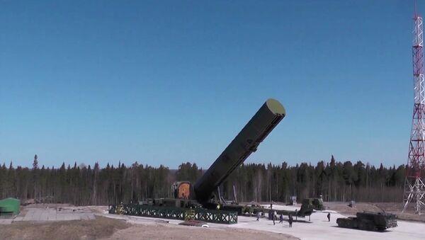 Испытание новой баллистической ракеты «Сармат» - Sputnik Ўзбекистон
