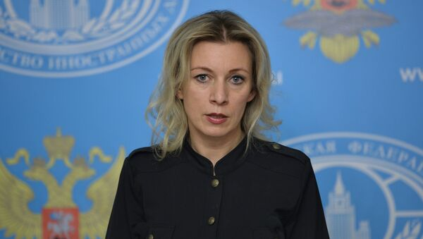 TIV rasmiy vakili Zaxarovaning brifingi - Sputnik Oʻzbekiston