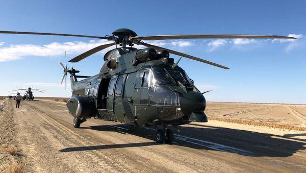 Вертолет Airbus ВВС Узбекистана - Sputnik Узбекистан
