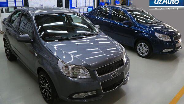 UzAuto Motors начнет выпускать машины в новых цветах - Sputnik Ўзбекистон