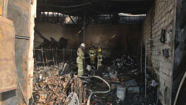Пожар в Ташкенте - Sputnik Узбекистан