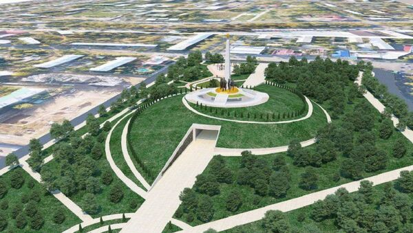 Концепция парка Победы в Ташкенте  - Sputnik Узбекистан