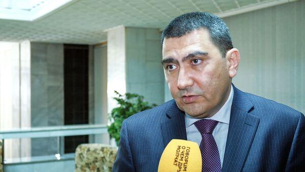 Джасур Рустамбеков – руководитель исполнительного аппарата Ассоциации Узтекстильпром - Sputnik Узбекистан