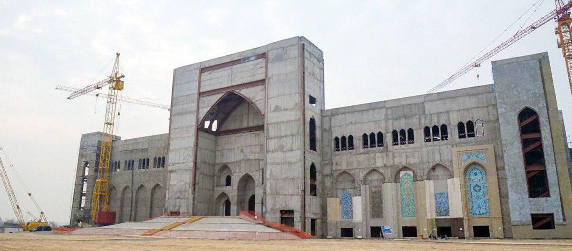 Строительство Центра исламской цивилизации - Sputnik Узбекистан, 1920, 13.08.2020