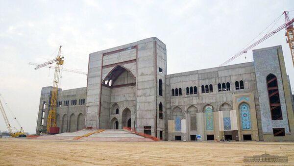 Строительство Центра исламской цивилизации - Sputnik Узбекистан