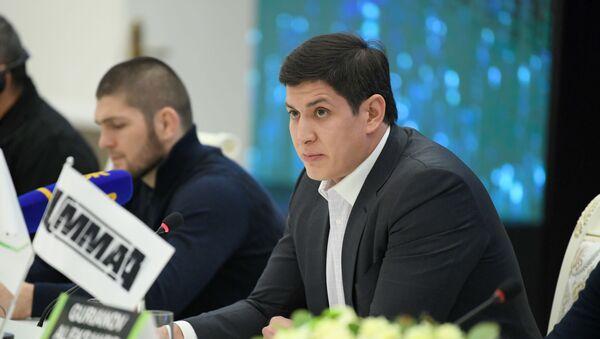 Глава Ассоциации смешанных боевых искусств Отабек Умаров - Sputnik Ўзбекистон