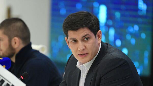 Глава Ассоциации смешанных боевых искусств Узбекистана Отабек Умаров - Sputnik Узбекистан
