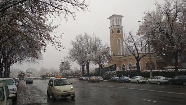 Снег в Ташкенте - Sputnik Ўзбекистон