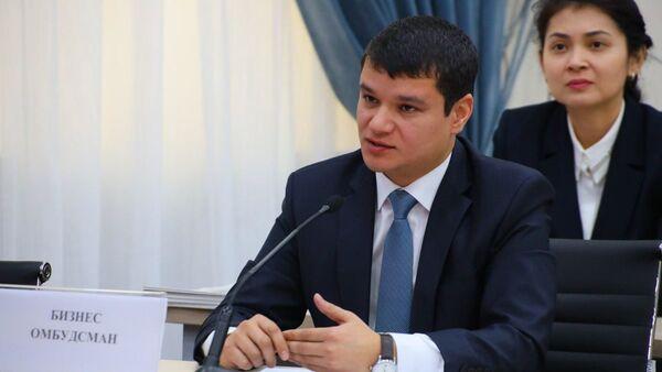 Zamestitel biznes-ombudsmena Uzbekistana Djamshid Urinov - Sputnik Oʻzbekiston