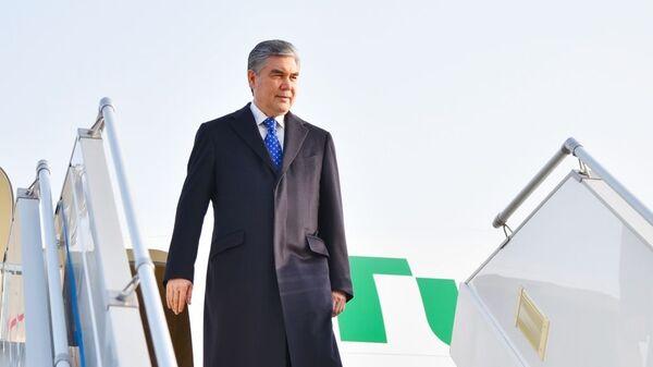 Президент Туркменистана Гурбангулы Бердымухамедов прибыл в Ташкент - Sputnik Ўзбекистон