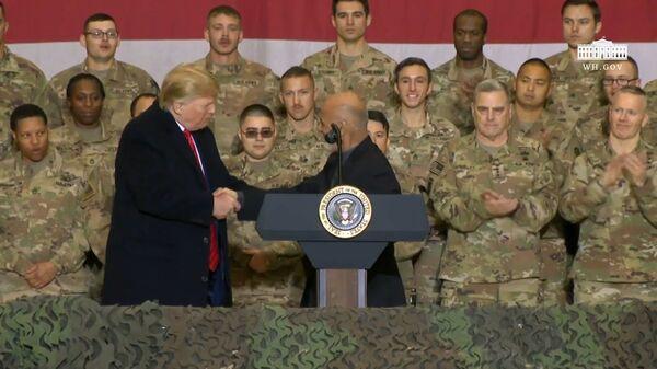 Дональд Трамп заявил, что Талибан* стремится заключить мирное соглашение - Sputnik Ўзбекистон
