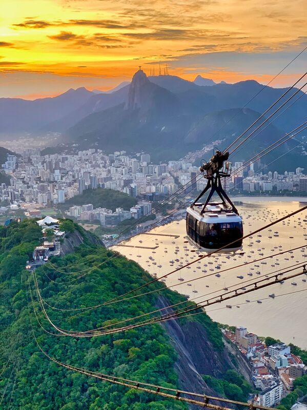 A view on Rio-de-Janeiro, Brazil - Sputnik Ўзбекистон