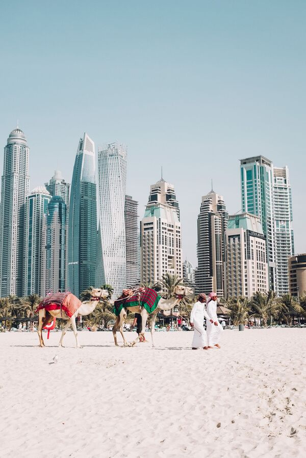 A view on Dubai, the United Arab Emirates - Sputnik Ўзбекистон