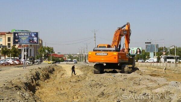 В Самарканде рабочий погиб на стройке при обрушении грунта - Sputnik Узбекистан