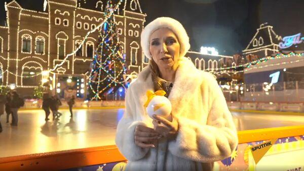 Новогодняя елка Sputnik в ГУМе - Sputnik Узбекистан